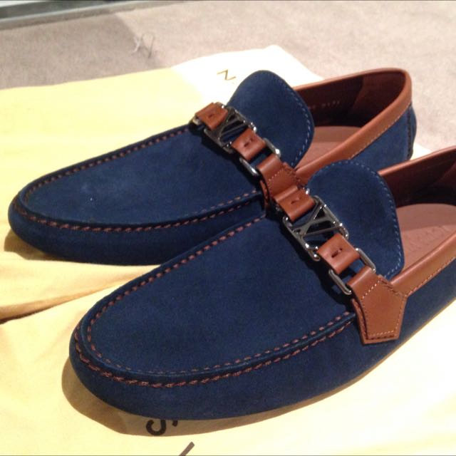 Louis Vuitton S8 Moccasin shoes