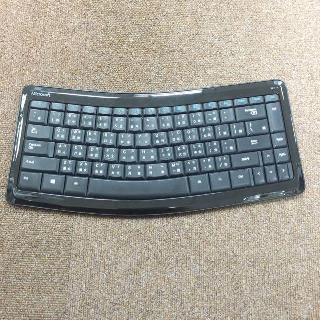 Microsoft藍牙鍵盤