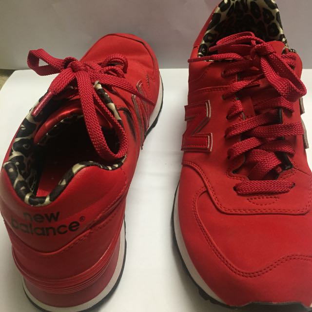 New Balance Red High Roller Shoes **PENDING**