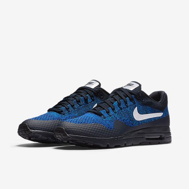 9234866767 ... australia nike air max 1 ultra flyknit women dark obsidian racer blue  photo blue white womens