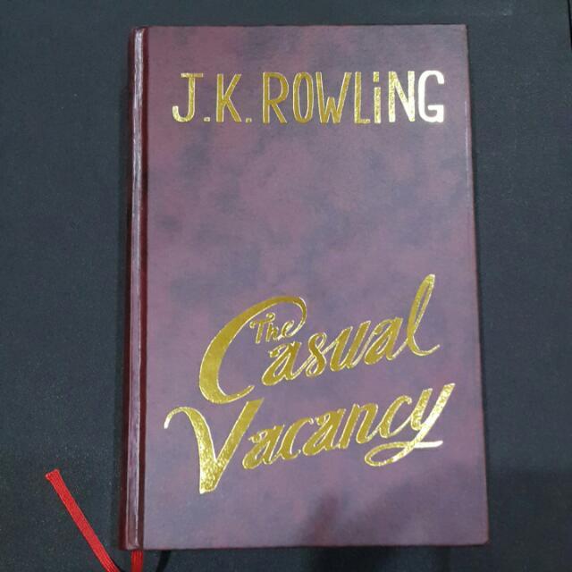 Novel The Casual Vacancy Versi Indonesia