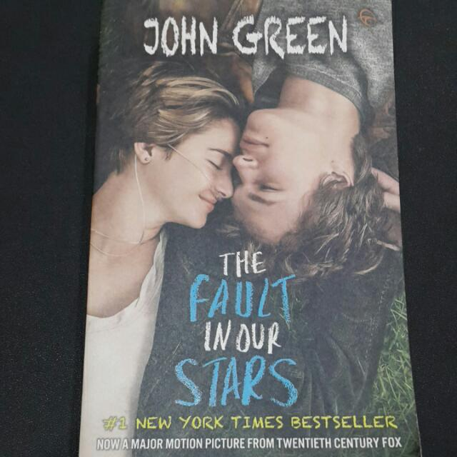 Novel The Fault In Our Stars