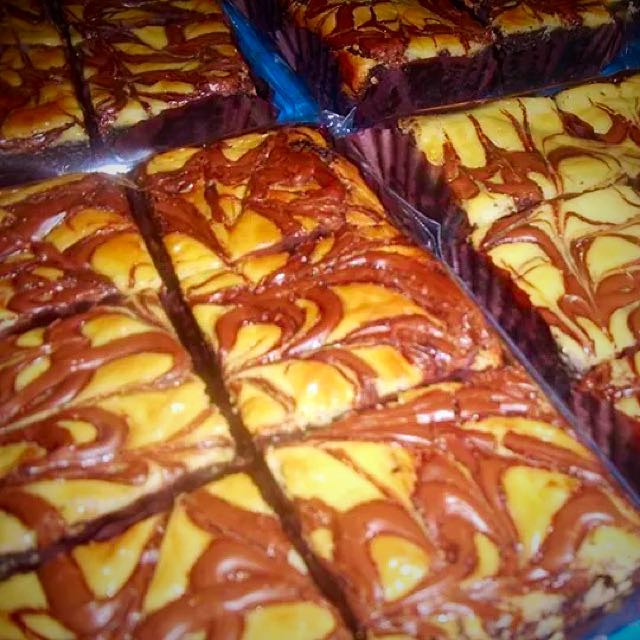 Nutella Brownies (6 pcs per box)