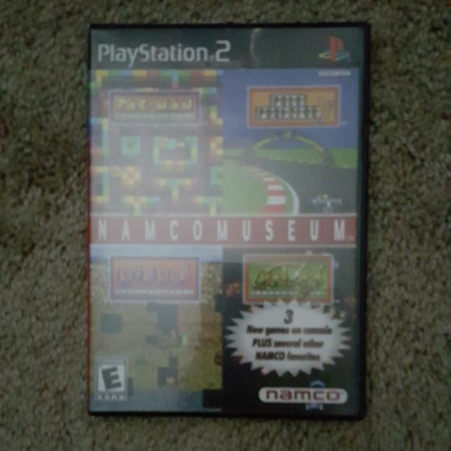 PS2 Namco Museum Game