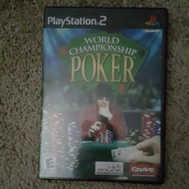 PS2 World Champion Poker Game
