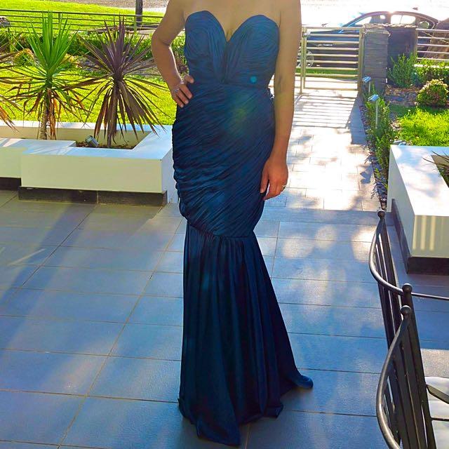 Royal Blue 'Nadia Coppolino' Dress By Celebrity Dresses Size 8-10