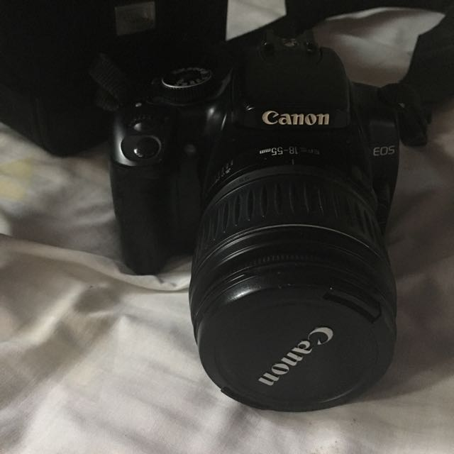 Selling My Canon 400D DSLR Rush!!