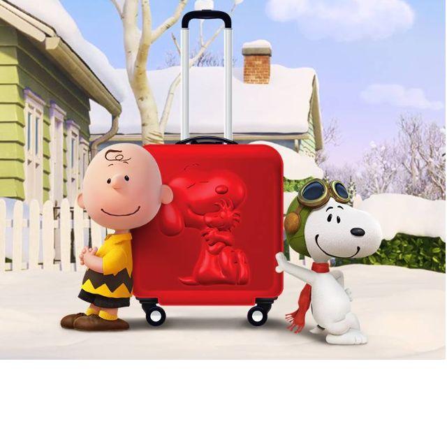 Snoopy 行李箱 登機箱