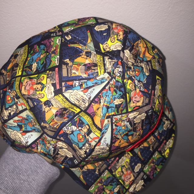 Superman comic movie world hat