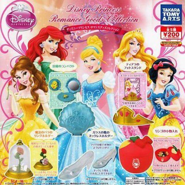 🎀TAKARA TOMY ART.迪士尼公主系列造型首飾盒💍