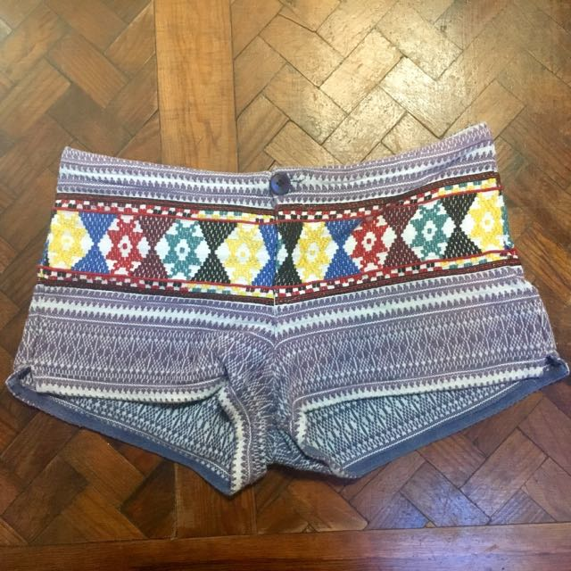 Tigerlily Boho Embroidered Shorts