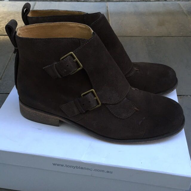 Tony Bianco Ankle Boots 7.5