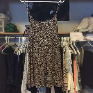 Garage M/L Open Back Dress