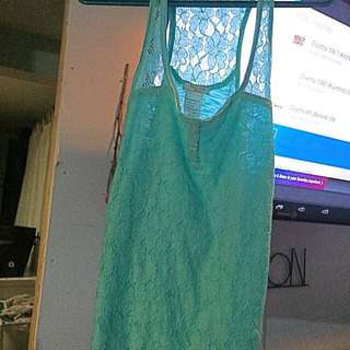 Brand New Teal Blue Tank From Aritza