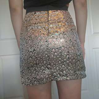 Metallic Skirt