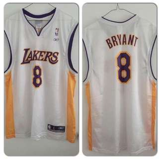 Authentic Reebok Los Angeles Lakers Kobe Bryant jersey - SIZE L
