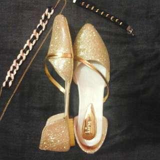 Glitter Flatshoes Luino