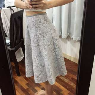 [FREE POST] Fluffy Lace Skirt