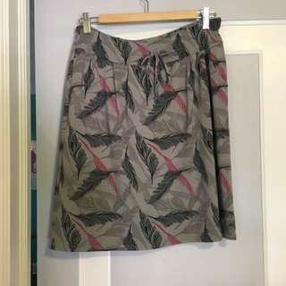 MEC Pink And Black Feather Skirt