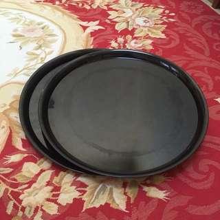 Black Serving Platters