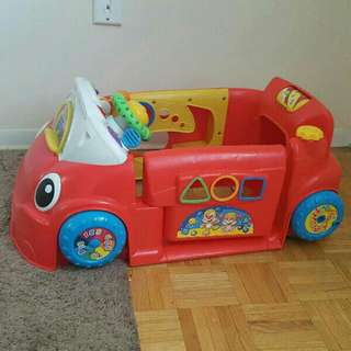 fisher price stationary car