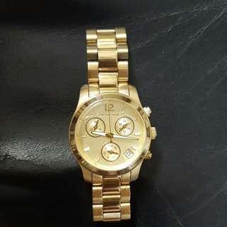正品 MK5384 Michael Kors 金 手錶