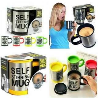 Self Stirring Mug/Gelas Pengaduk Otomatis