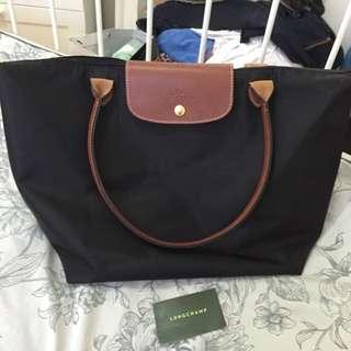 Longchamp Original Black Bag