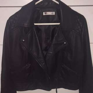 Leather Jacket Make An Offer!!