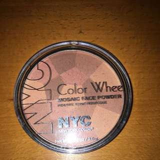 NYC Color Wheel In Rose Glow