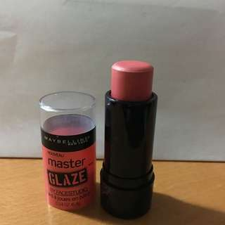 Maybelline Master Glaze Blush Stick In Coral Sheen