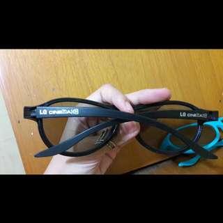 Kaca Mata 3D LG cinema Black