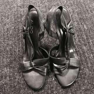 🔴Black Aldo Heels