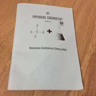 TJC H1 Physical Chemistry Compiled Prelim Booklet