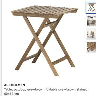 IKEA Askholmen Outdoor Table (New) [Reserved]