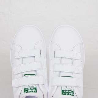 [國外代購] Adidas Stan Smith 綠 魔鬼氈