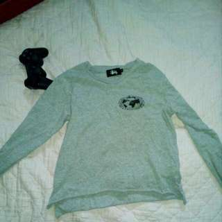 Stussy Crop Long Sleeve Size 6