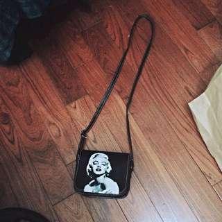 Marilyn Monroe 文青小肩包(餘2個)