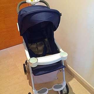 Airboss Lemur Baby Pram/stroller Light Weight