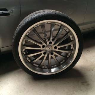 VE HOLDEN Alloy Rims (tyres Included)