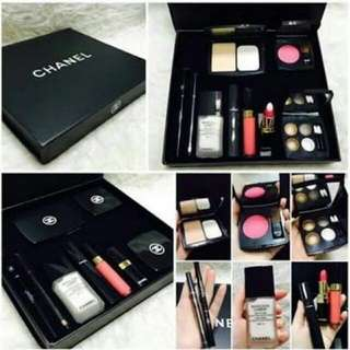 Paket 1set Makeup Chanel Ori Singapore