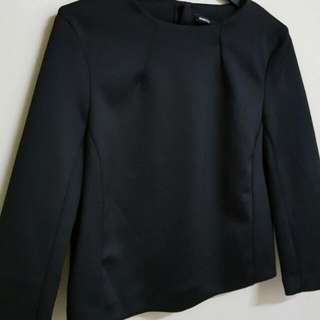MNG Suit Black Tops (Thick Material)