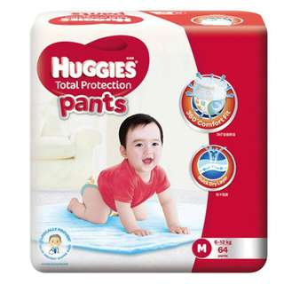 Huggies Total Protection Pants (Medium)
