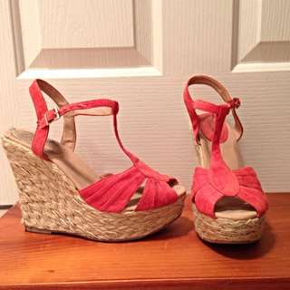 Miss Shop Espadrille Wedges