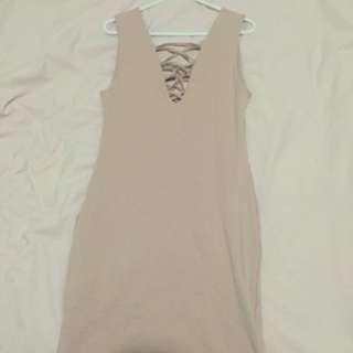 Kookai Lace Up Dress Size 2