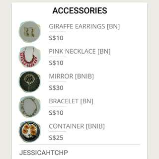 BN Accessories For Sale