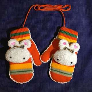 Cute Rabbit Gloves
