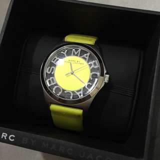 Marc Jacobs Lime Green Watch