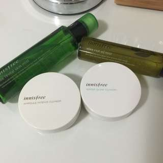 **SOLD**Innisfree Products