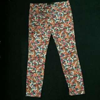 Zara Woman Flower Trouser